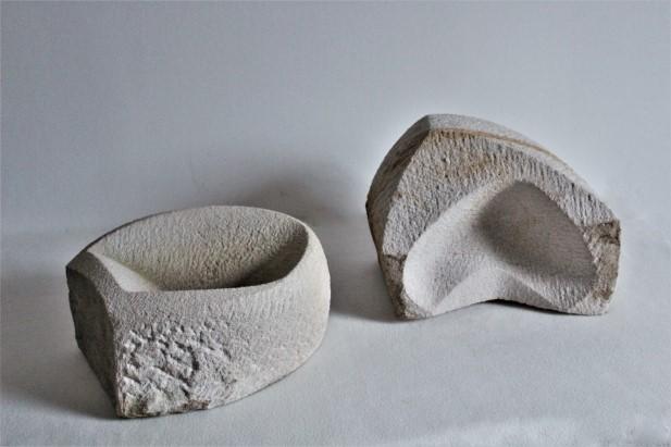 Sandstein-Skulpturen