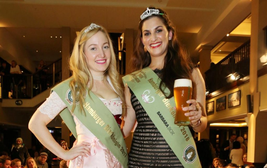 BLOCKBÄU: Wahl zur Hamburger Bierkönigin 2018