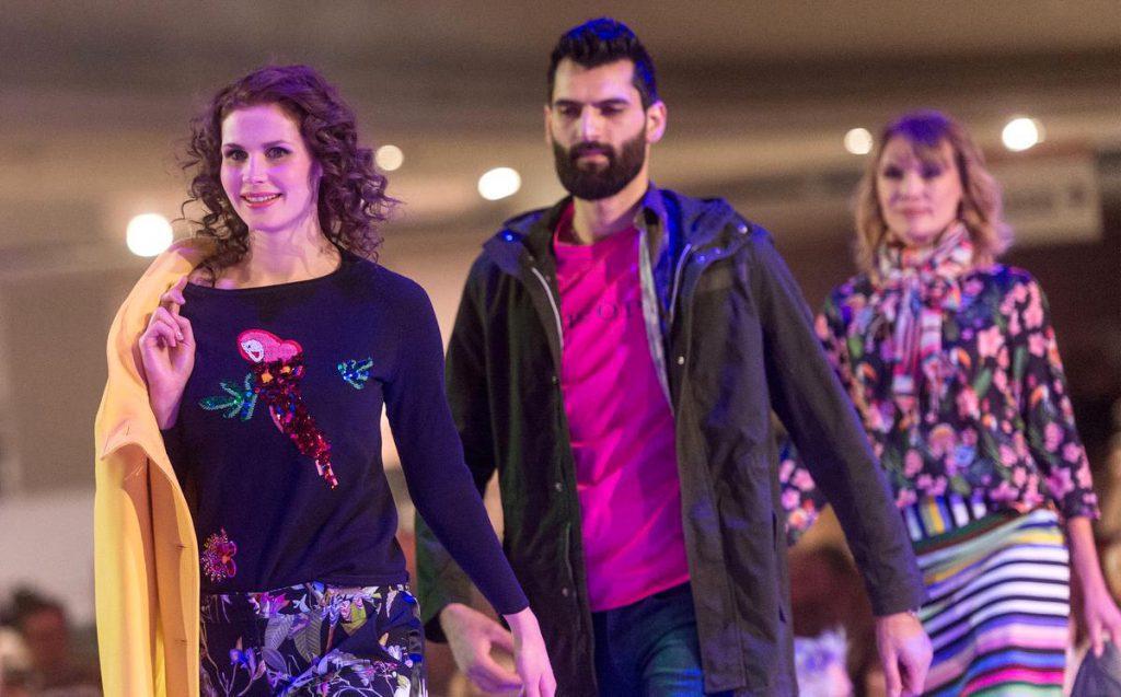 VIP Fashion Night bei dodenhof auf dem Laufsteg