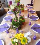Der gedeckte Milka Tisch