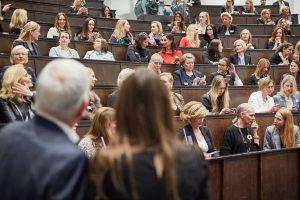 Teilnehmerinnen an der Hamburg Women Connect