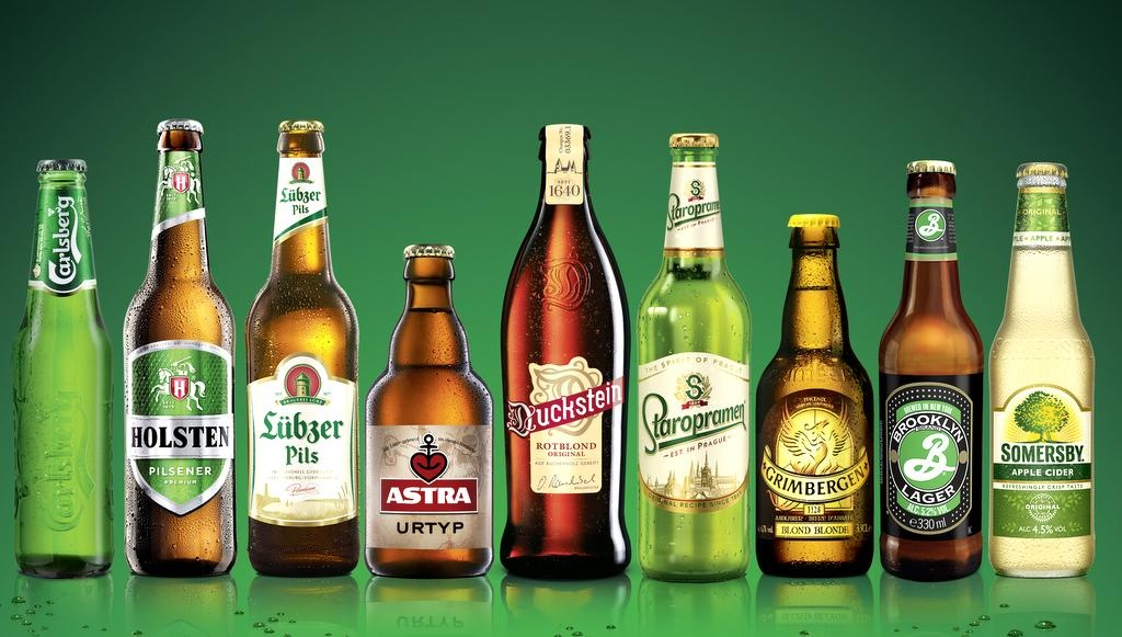 Carlsberg-Holsten Markenportfolio