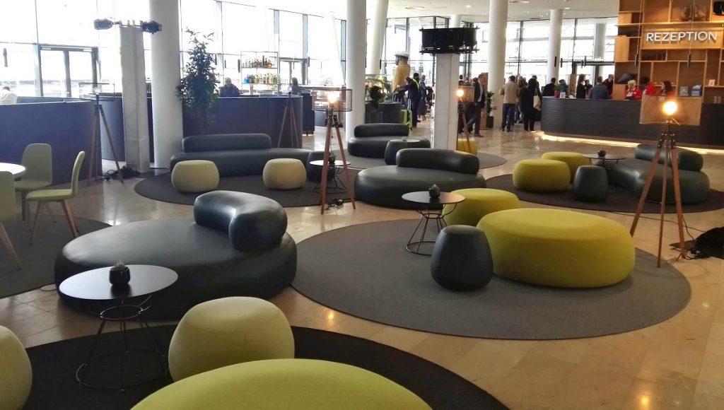 Lobby Jufa Hotel HafenCity