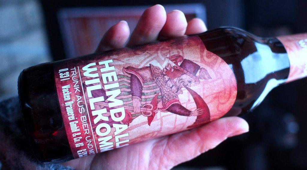 Craft Beer Flasche aus Wacken
