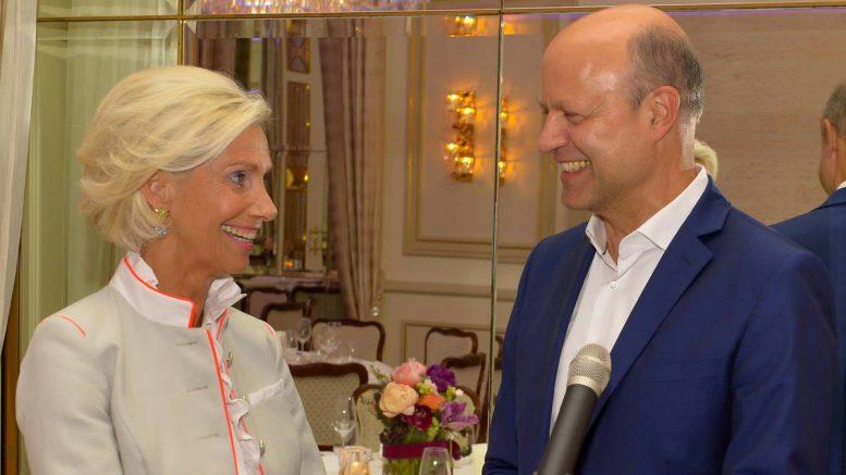 CeU Veranstaltung mit Frank Stieler mit Christina Tröger