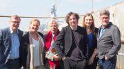 Auf der MS Stubnitz die ElbJazz Macher Crew