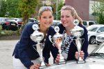 Siegerinnen Damenpokal Gesamtwertung und in ihrer Klasse_Annkatrin Tietgen und Nina Emmer 2017 (c) Auto Wichert
