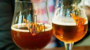 Biergläser auf dem CRAFTMARKET Hamburg
