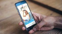 Tinder auf dem Smartphone