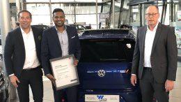 Drei der besten Autoverkäufer von Auto Wichert