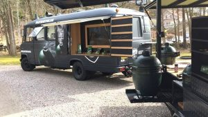 Big Green Egg Wildfire Truck
