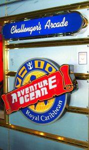 Arcade auf der Navigator of the Seas