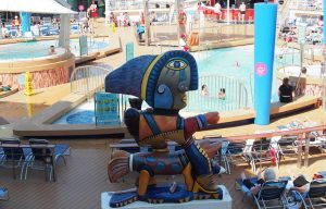 Figur auf der Navigator of the Seas
