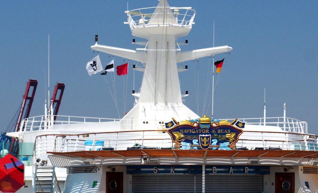 Navigator of the Seas Wappen