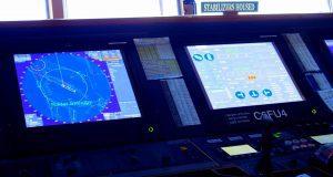 Brückenimpressionen von der Navigator of the Seas