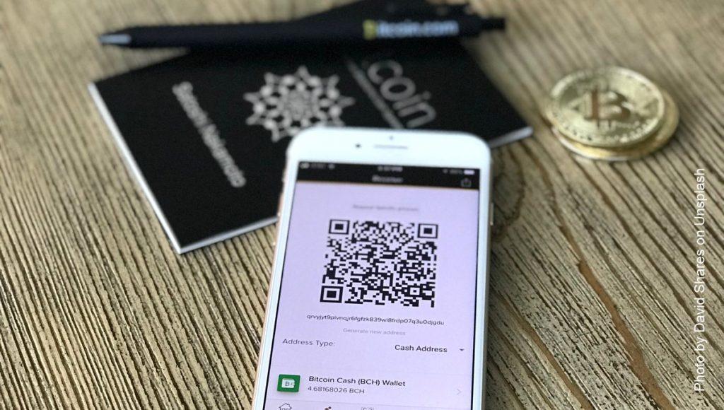 Bitcoin auf dem Smartphone