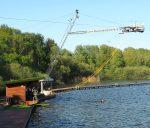 Neuländer See Hamburg Harburg Wakeboard Anlage