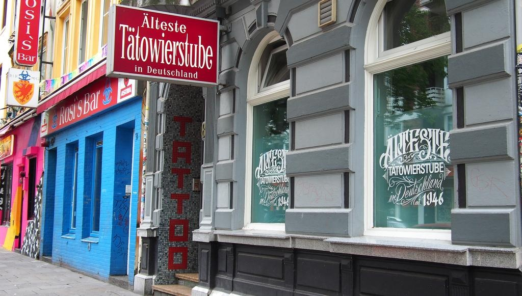 Ein Tattoo Studio in Hamburg