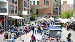 HafenCity Hamburg - der Langschläferflohmarkt