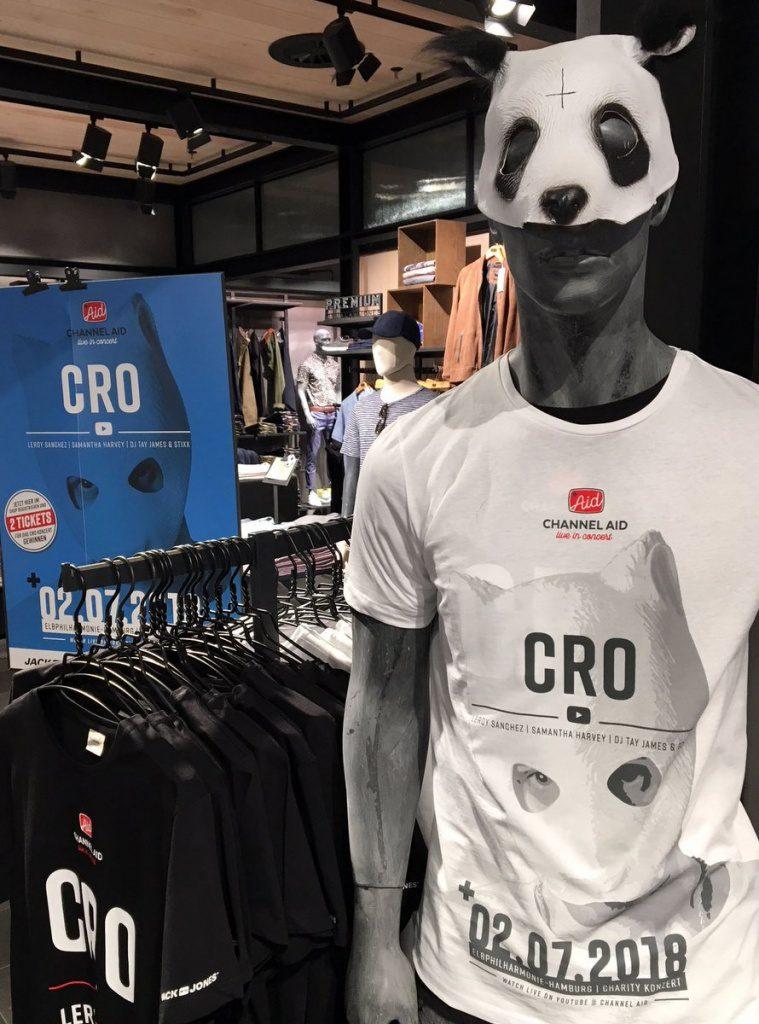 Channel Aid CRO Fan Shirt