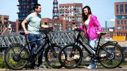 E-Bike in Hamburg