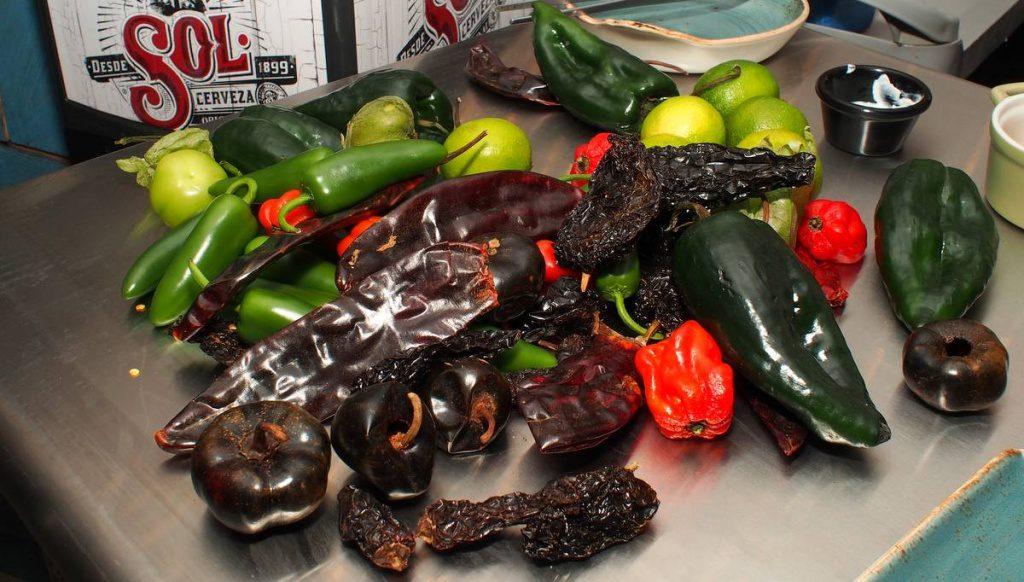 Gemüse aus Mexiko