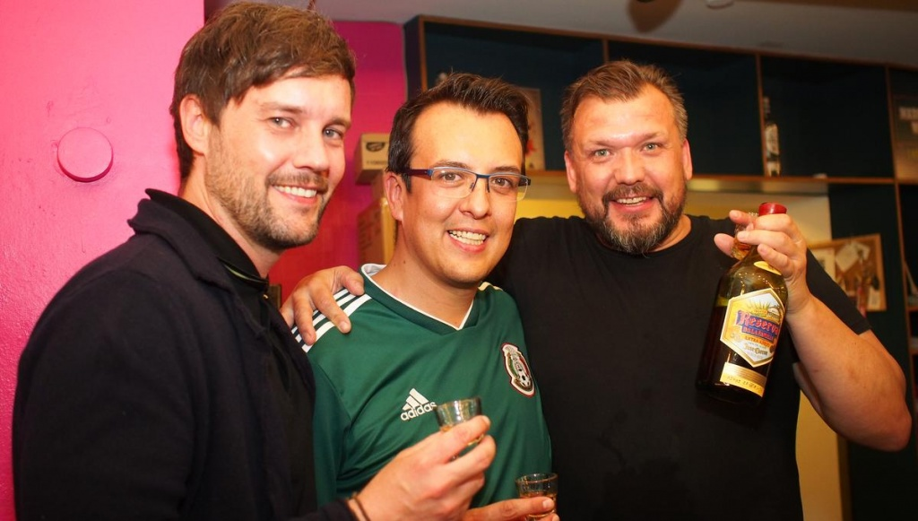 Die Jungs von der Tequila Front