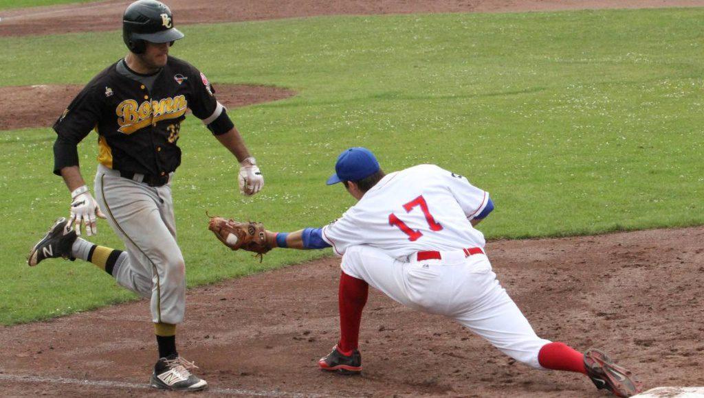 Catch beim Baseball