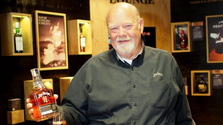 Fred Noe zeigt seinen Bourbon
