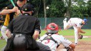 Pitchen beim Baseball