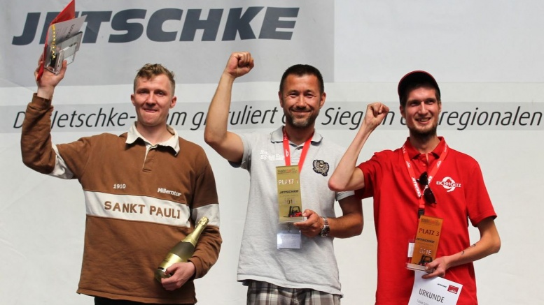 Sieger beim 12. Jetschke Stapler Cup 2018