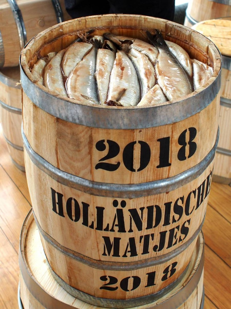 Saisonstart Holländischer Matjes