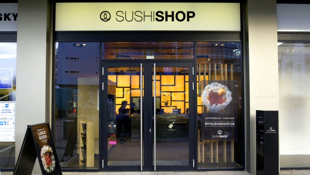 Sushi Shop in Hamburg