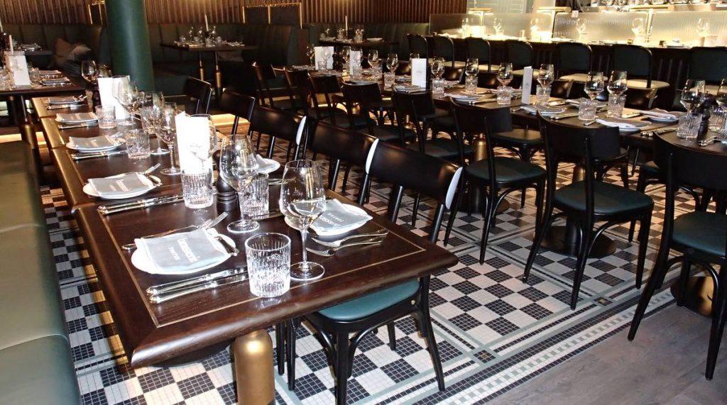 Die Brasserie im Tortue Hamburg