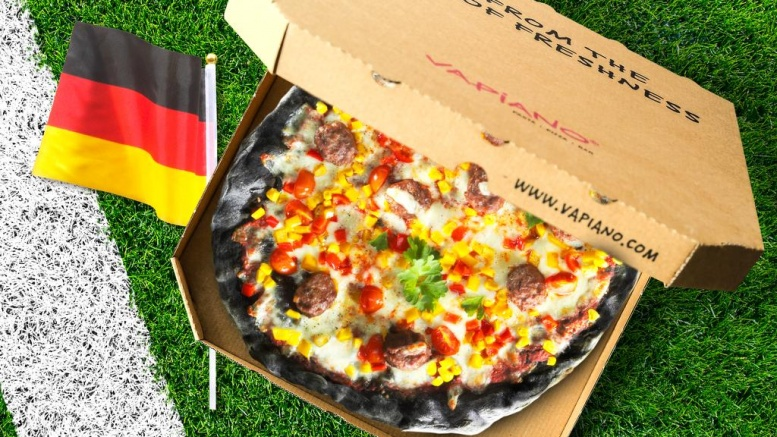 Die VAPIANO_WM-Pizza 2018
