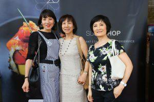 Chun Li Hunke, Li Hua Laio und Sha Li Liu (c) Sushi Shop