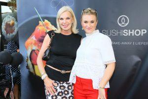 Susanne Korden und Designerin Ella Deck (c) Sushi Shop