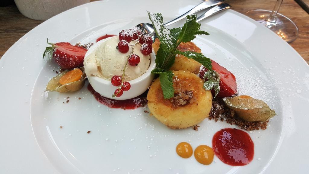 Dessert in der Brasserie Europa