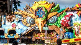 Das Jahrmarktsfahrgeschäft Dr. Archibald