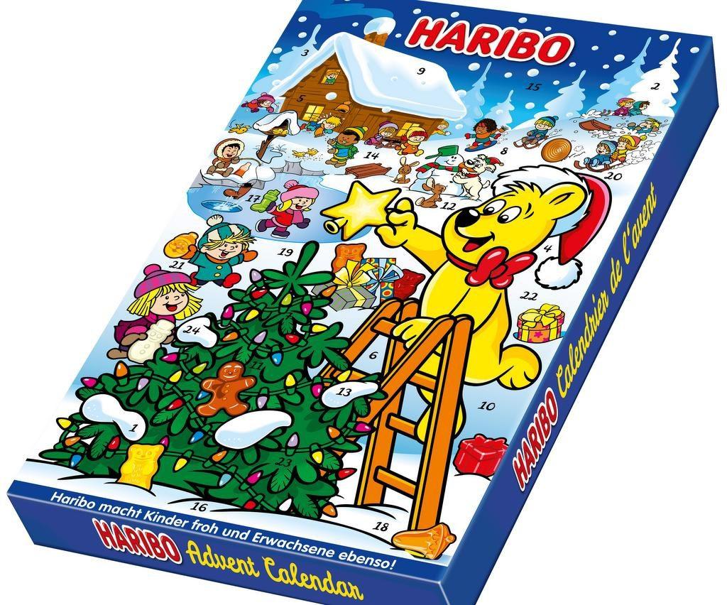 Der HARIBO Adventskalender 2018