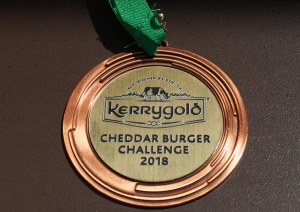 Medaille Kerrygold Cheddar Burger Challenge 2018