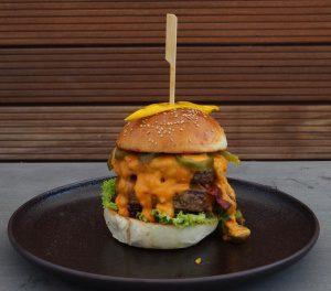 Cheddar Burger Kreation bei der Kerrygold Cheddar Burger Challenge 2018