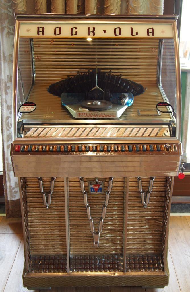 Ein Musicbox aus den 1950er Jahren