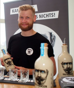 Gin Stand bei der Speakers Night Hamburg