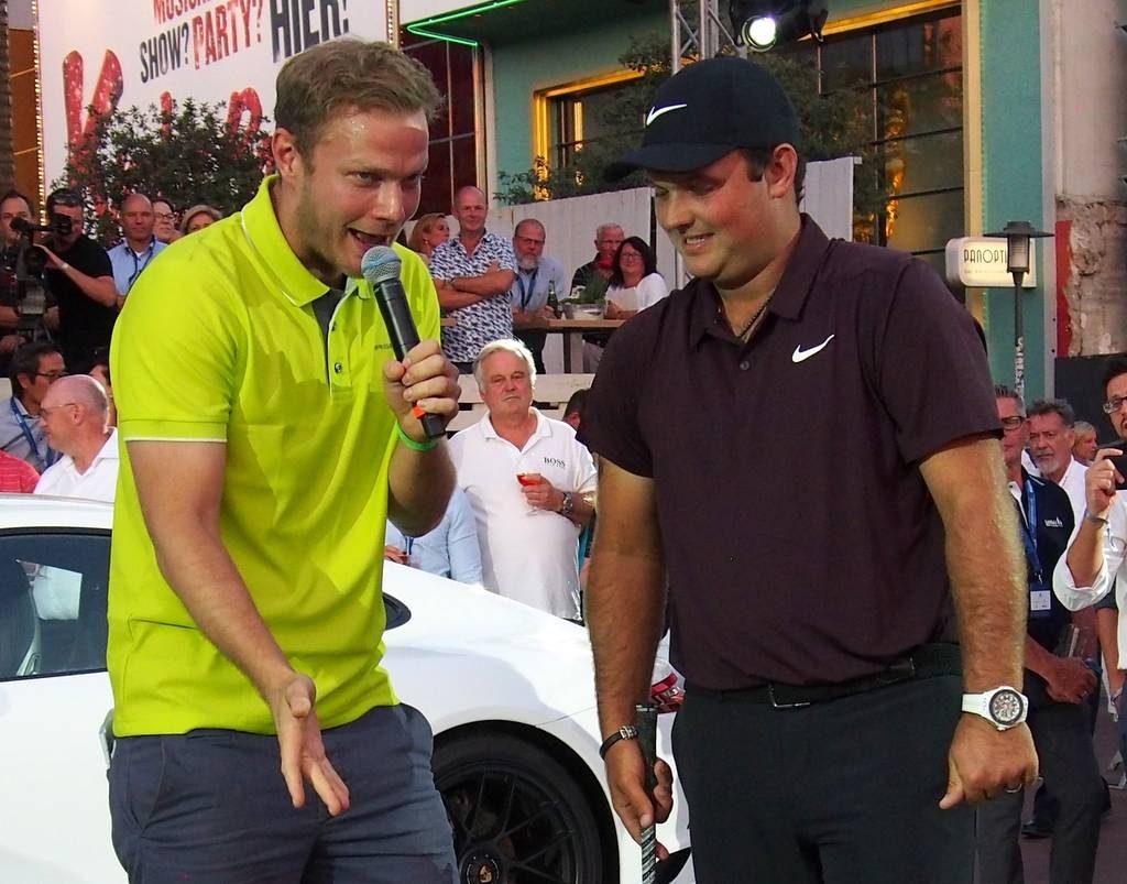 Interview auf dem Golfplatz