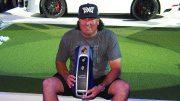 Der Golfer Pat Perez mit Gewinn