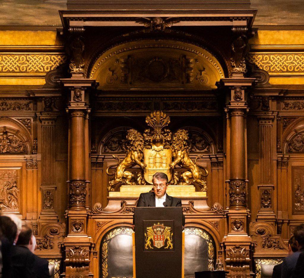 70 Jahre Stern - der Senatsempfang im Hamburger Rathau