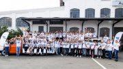Gruppenfoto der neuen Azubis von Auto Wichert 2018