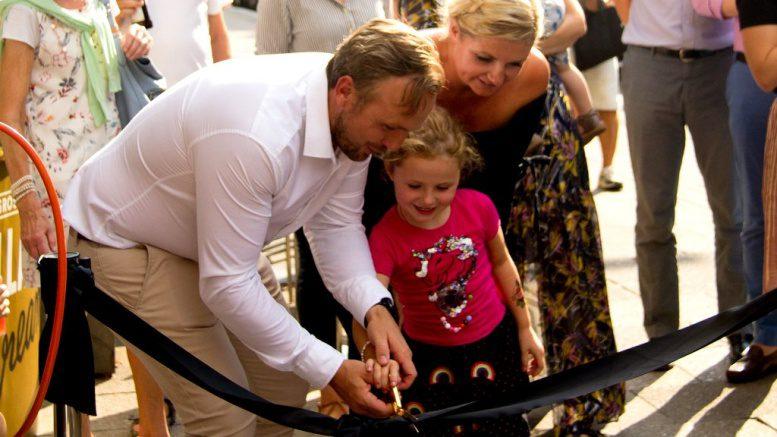 Der Flagshipstore von Ankerkraut wird symbolisch eröffnet