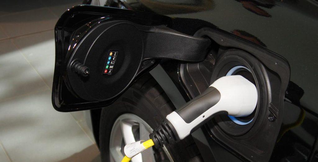Der Stromanschluss für ein Elektroauto